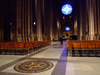Manhattan (New York City): inside the Cathedral of Saint John the Divine - Mother Church of the Episcopal Diocese of New York and the seat of its Bishop - 1047 Amsterdam Avenue - photo by M.Bergsma