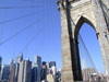 New York City: Brooklyn Bridge and the city - photo by M.Bergsma