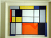 New York City: Piet Mondriaan at the Metropolitan Museum of Art - composition - Neo-Plasticist painting - 1000 Fifth Avenue - photo by M.Bergsma