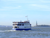 New York City: boat to Liberty Island - photo by M.Bergsma