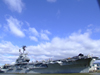 New York City: US Navy aircraft carrier - Intrepid Sea-Air-Space Museum - photo by M.Bergsma