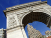New York City: Washington Square - Washington's Arch - Greenwich Village - Lower Manhattan - photo by M.Bergsma