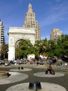 New York City: Washington Square - Greenwich Village - Lower Manhattan - photo by M.Bergsma