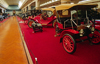 Dearborn, Michigan, USA: red carpet for old automobiles at the Henry Ford Museum - photo by C.Lovell