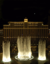 USA - Las Vegas (Nevada): Bellagio Hotel Fountain at night (photo by B.Cain)