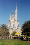Jacksonville / JAX / CRG (Florida): kitsh castle - Disney World (photo by M.Torres)