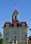 Cottonwood Falls. Kansas, USA: Chase County Courthouse - photo by G.Frysinger