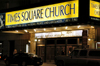 New York City (Manhattan): Times Square Church - photo by C.McEachern