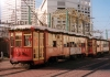 New Orleans (Louisiana): St. Charles Avenue streetcars - the oldest in the world - tram - photo by M.Torres