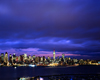 USA - Manhattan (New York): skyline from Jersey - nocturnal - photo by A.Bartel