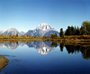 USA - Grand Teton NP (Wyoming): Mount Moran and Oxbow Bend - reflection - landscape - photo by J.Fekete