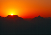 USA - Grand Canyon (Arizona): sunset - mesa - silhouette - photo by J.Fekete