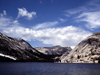 USA - Yosemite NP (California): Lake Tenaya and the granite monoliths - photo by J.Fekete