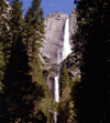 USA - Yosemite NP (California): Yosemite Falls from Yosemite Valley - photo by J.Fekete