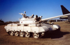USA - Mobile (Alabama): T-54 - captured Iraqi tank - Gulf war - Soviet built - main battle tank - arms - weapons - photo by M.Torres