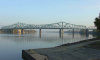 USA - Parkersburg (West Virginia): bridges over the the Ohio river - photo by G.Frysinger