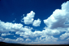 USA - Arizona: clouds over the desert - cumulus - photo by J.Fekete