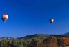 USA - Arizona: Hot Air Baloons and landscape - ballooning - Montgolfière - photo by J.Fekete