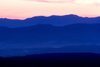 USA - Arizona: mountain range at sunset - photo by J.Fekete