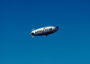 USA - California: Goodyear blimp - airship - Zepplin - photo by J.Fekete