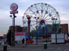 New York City, USA: Coney Island amusement park - wonder wheel - Ferris wheel on Surf avenue - photo by M.Bergsma