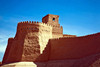 Watchtower on City Walls, Khiva, Uzbekistan - photo by A.Beaton