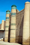 Khiva City Walls, Uzbekistan - photo by A.Beaton