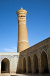 Kalon Mosque, Minaret, Bukhara, Uzbekistan - photo by A.Beaton
