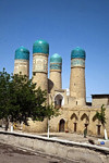 4 minarets, Chor Minor, Bukhara, Uzbekistan - photo by A.Beaton