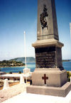 Vanuatu - Efaté island - Port Vila: WWI memorial (photo by G.Frysinger)