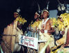 Efaté island - Port Vila: a native band (photo by G.Frysinger)