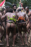 Vanuatu - Dancers bare bottoms, Ambrym Island - photo by B.Cain