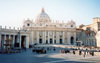 Holy See - Vatican - Rome - St. Peter's square - in January (photo by Miguel Torres)