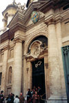 Santa Sede - Vaticano - Roma - Church of St Ann of the Palfreys: leaving mess (photo by Miguel Torres)