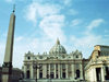 Holy See - Vatican - Rome - St Peter's Basilica and the obelisk (photo by M.Bergsma)