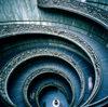 Vatican: Vatican museum monumental circular staircase - designed by Giuseppe Momo in 1932 - photo by J.Fekete