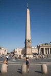 Vatican City, Rome - Saint Peter's square - Egyptian obelisk, known as 'The Witness' - photo by I.Middleton