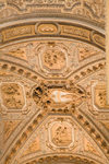 Vatican City, Rome - Saint Peters Basilica - ceiling of the nave - photo by I.Middleton