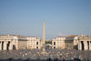 Vatican City, Rome - Saint Peter's square and Piazza Pio XII - photo by I.Middleton