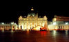 Vatican - St. Peter's square - around midnight (photo by Miguel Torres)