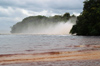 181 Venezuela - Bolivar - Canaima National Park - Salto Ucaima, seen from the Canaima lagoon - photo by A. Ferrari