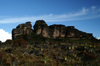 88 Venezuela - Bolivar - Canaima NP - Typical landscape of Roraima - photo by A. Ferrari