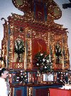 Venezuela - Coro - UNESCO world heritage site (Falc�n): altar - Iglesia de San Francisco (photo by M.Torres)