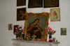 88 Venezuela - Los Nevados - religious paintings in an old hacienda - photo by A. Ferrari