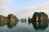 Halong Bay - Vietnam: limestone rock formations - photo by Tran Thai