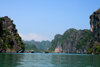 Halong Bay - Vietnam: fishing boats at work - photo by Tran Thai