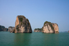 Halong Bay - Vietnam: monolithic islands rising spectacularly from the sea - photo by Tran Thai