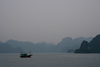 Halong Bay - Vietnam: fishing boat - end of the day - photo by Tran Thai