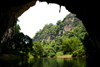 Ba Be National Park - vietnam: Puong Cave - 'Fairy Pond', a rock basin filled with clear water - photo by Tran Thai