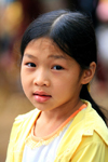 Ba Be National Park - vietnam: young girl - photo by Tran Thai